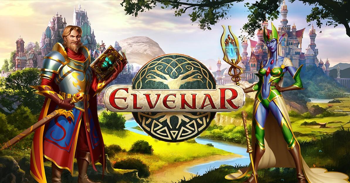 Elvenar логотип игры