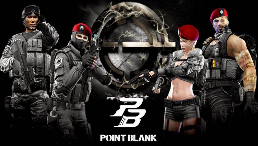 логотип игры point blank