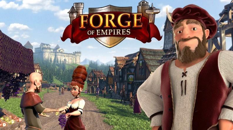 Логотип игры Forge of empires