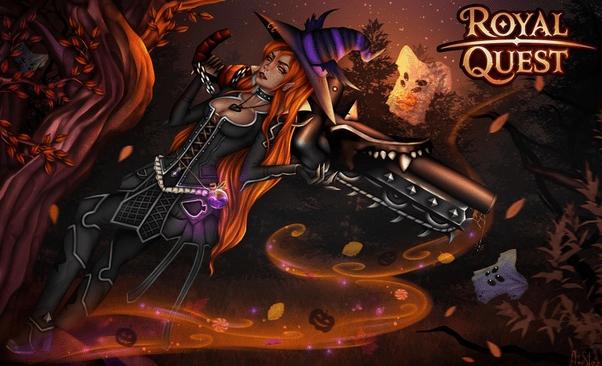 Заставка игры Royal Quest
