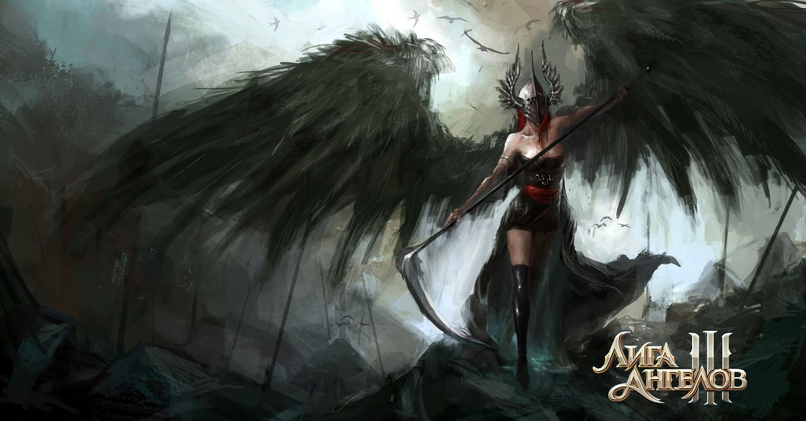 Заставка игры Лига Ангелов 3