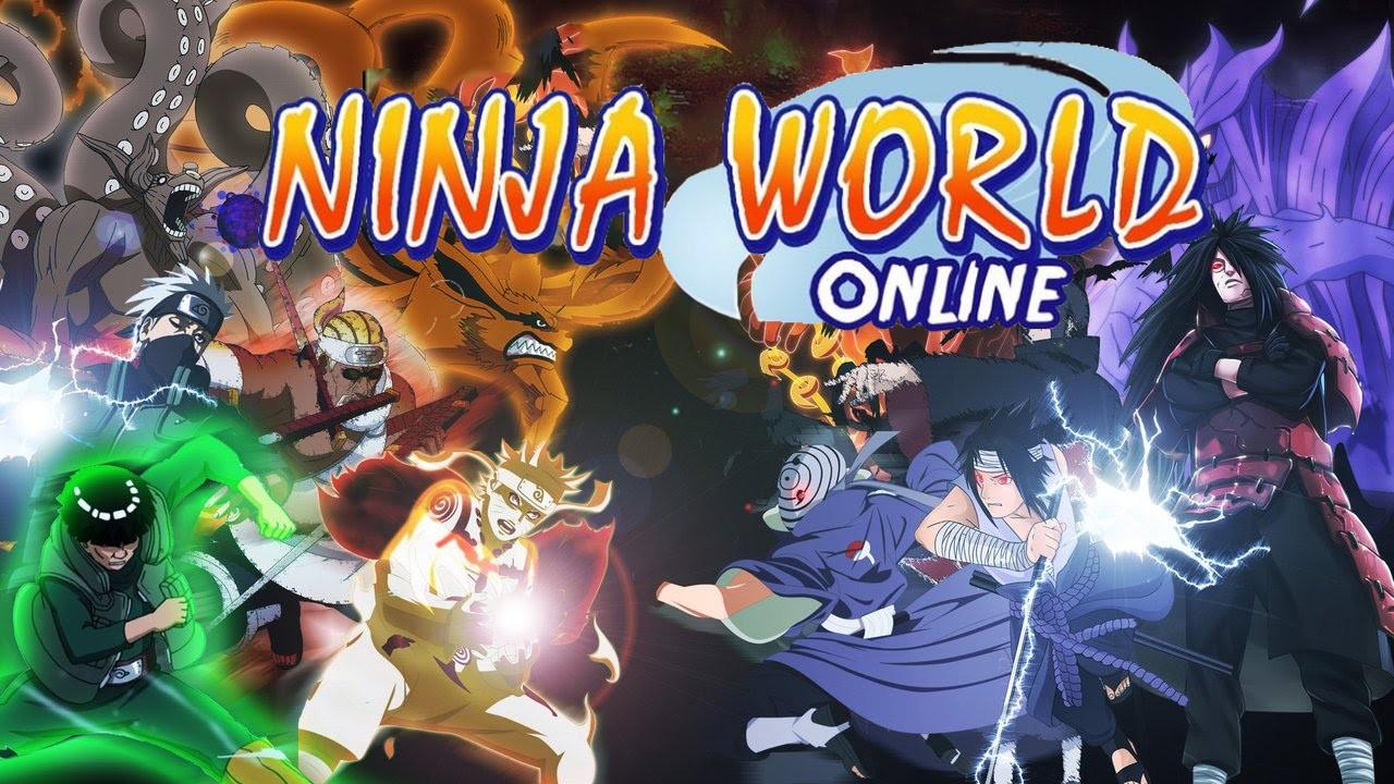 Логотип игры Ninja World
