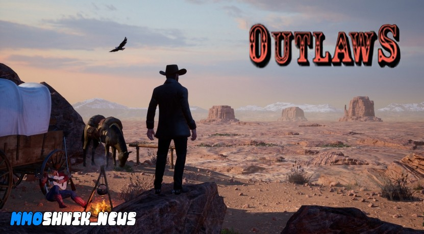Outlaws of the Old West обложка игры