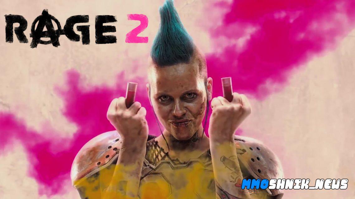 Геймплейный трейлер Rage 2