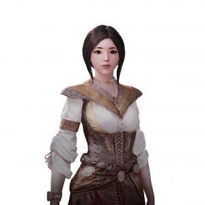 Персонаж игры A:IR Ева