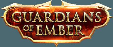 Лого игры guardians of ember
