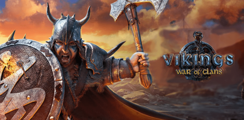 обои Viking war of clans