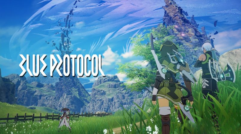 Blue Protocol обложка игры