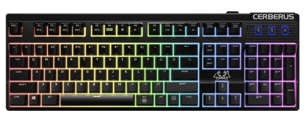 Игровая клавиатура ASUS Cerberus Mech RGB