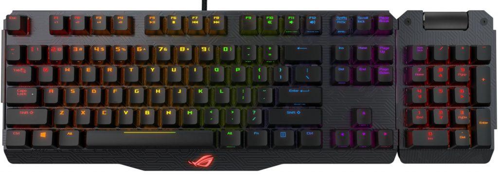 Игровая клавиатура ASUS ROG Claymore