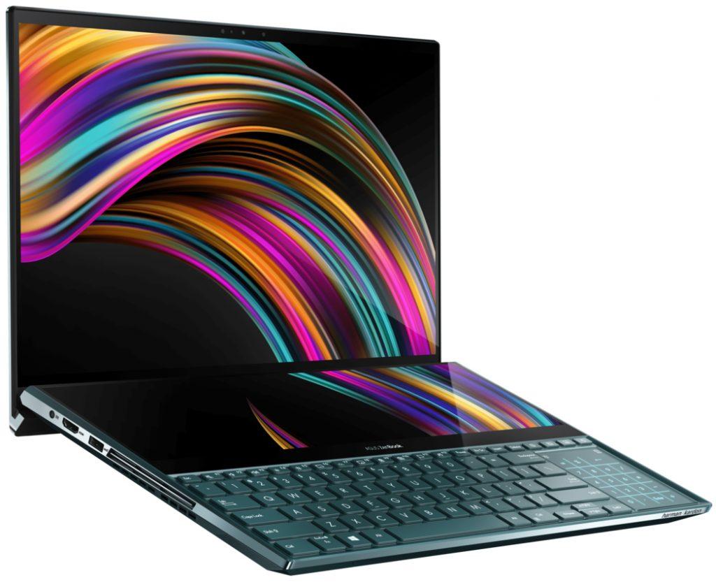 Игровой ноутбук ASUS ZenBook Pro Duo UX581